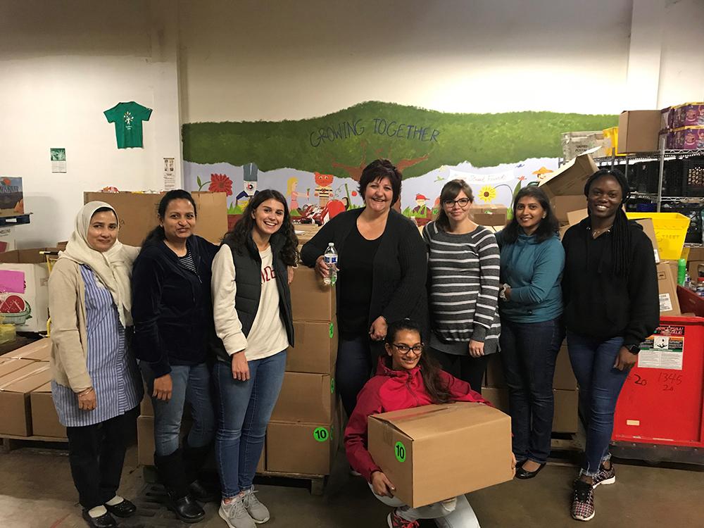 Verus Team Volunteers at Mercer Street Friends
