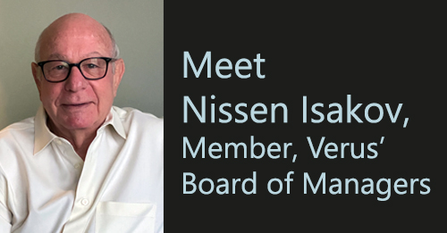 Meet Nissen Isakov, Chair of the Technology Committee, Verus' Board of Managers